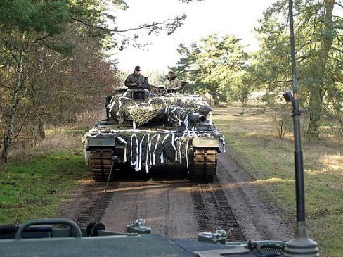Militär Maler Lukas Wirp Panzer Bundeswher Fot Poster Leinwand Bild