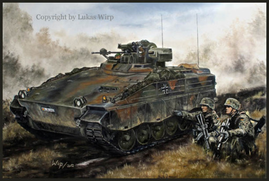 Bundeswehr Marder Panzer Heer Poster Bild Leinwand Lukas Wirp Militär
