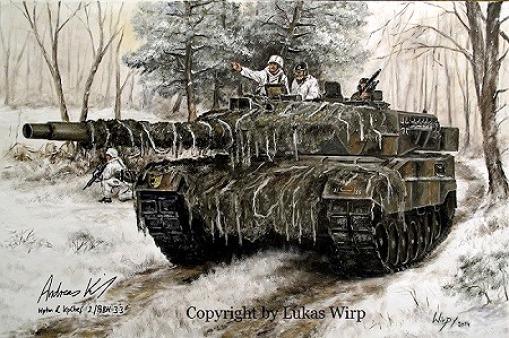 Bundeswehr Heer Panzer Barett Kampf Manöver Lukas Wirp Foto Poster