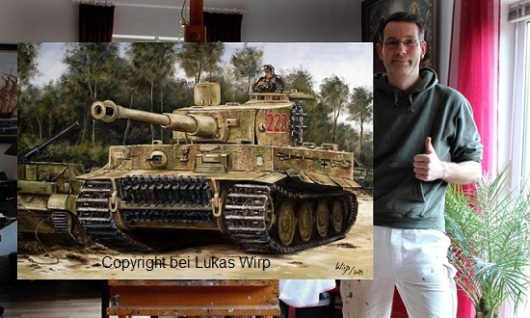 Waffen SS deutsche Panzer Tiger Panther