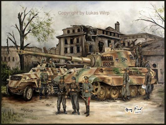 Führer hauptquartier Reichskanzlei Waffen SS Wiking Foto