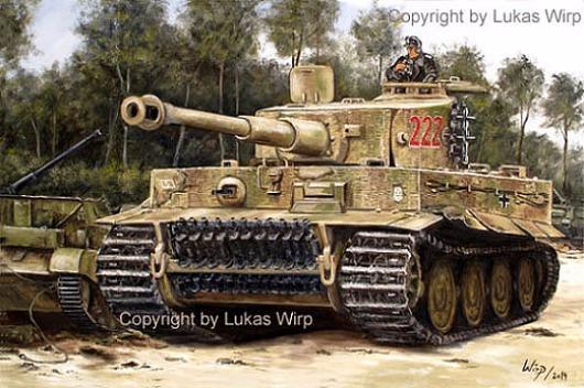 Tiger Panzer Wittmann Waffen SS Panzerdivision deutsche Panzer