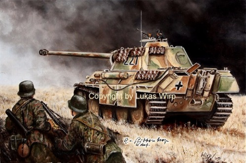 Waffen SS , Militaria , Militär , Leibstandarte , Kursk , Lukas wirp , Militärmaler