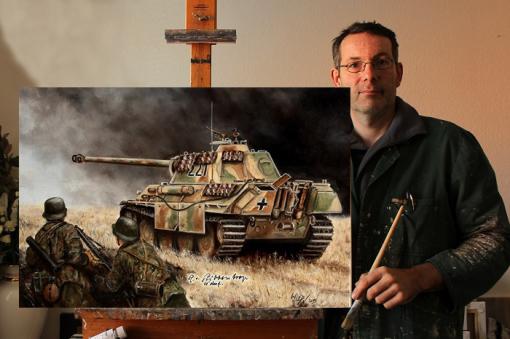 Milität , Kunst , Bilder , Waffen SS , Ostfront , Kursk