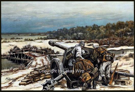 Französische Waffen SS , Pak 40 , Lukas Wirp , Ostfront