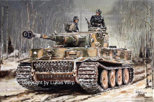 Wehrmacht, Panzer, Tiger, Militär, Bilder, Lukas wirp