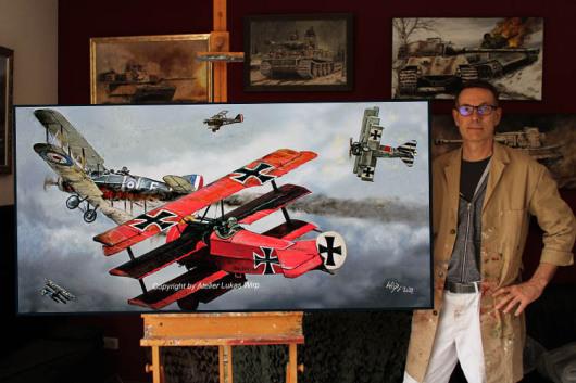 Luftwaffe, 1. Weltkrieg, Flugzeuge, Doppeldecker, Dreidecker, von Richthofen