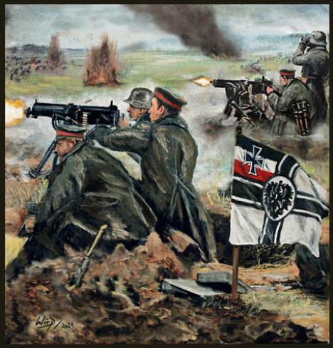 Militär, Bilder, Poster, 1. Weltkrieg, Heer , Lukas wirp