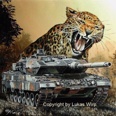 Bundeswehr, Panzer, Leopard 2 A6, Kampfpanzer, Poster
