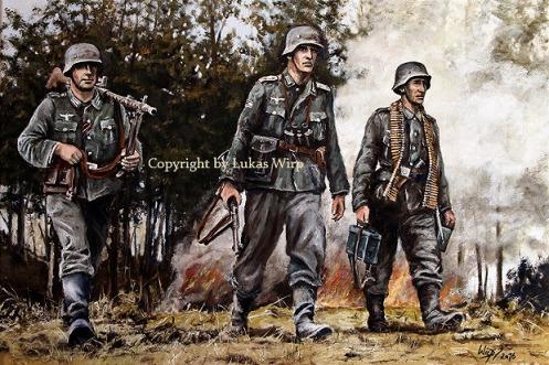 Militär, Bilder, Lukas Wirp, Wehrmacht, deutsche , Grenadiere