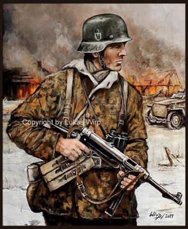 Waffen SS Grenadier Lukas wirp soldaten bilder