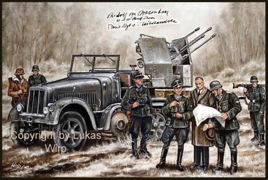 Vierling Flak, Waffen SS, von Ribbentrop