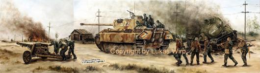Waffen SS, Panzer, Kursk, Panther V, Militär Bilder