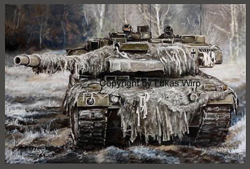 Kampfpanzer Panzer Battaillion BW tank German