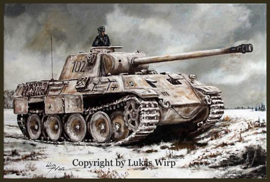 Panzer der Waffen SS Lukas Wirp Bild