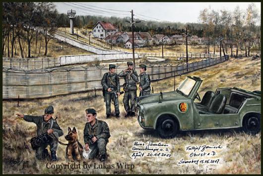 DDR, Grenzanlagen, Göhrsdorf, Grüne Grenze, Lukas Wirp