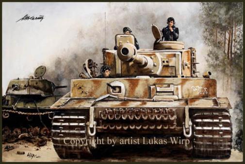 Wehrmacht, Otto Carius, Ritterkreuz, Bilder, Ostfront