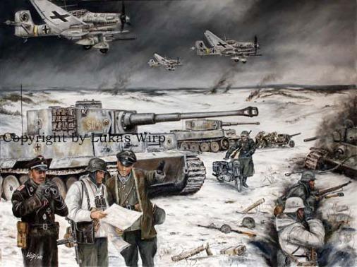 Waffen SS, Leibstandarte, Division, Bilder, Poster, Lukas Wirp