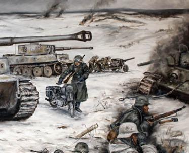 Winter, Ostfront, Wehrmacht, Waffen SS, 2. Weltkrieg, Bilder