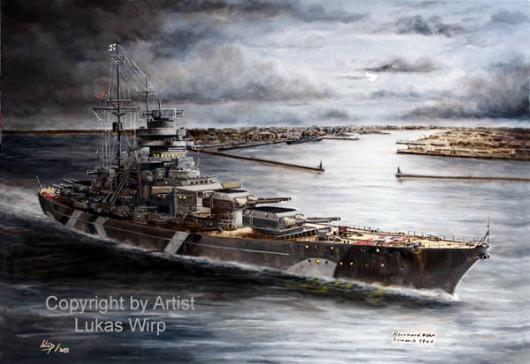 Kriegsmarine, 2. Weltkrieg, Bilder, Poster Lukas Wirp