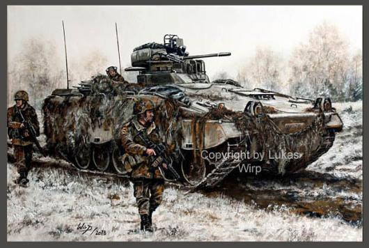 Schützenpanzer Marder, SPZ, Grenadiere, Militär, Poster, Lukas Wirp