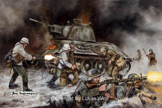 Nahkampfspange, Ostfront, Wehrmacht, Bilder