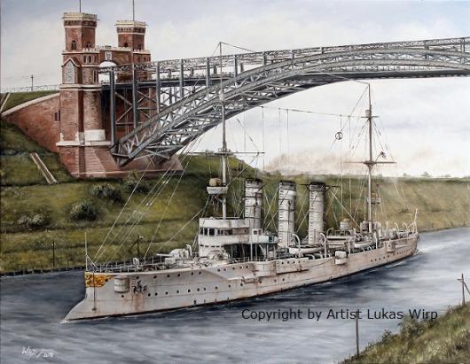 Kaiserliche Marine, 1. Weltkrieg, Nord Ostsee Kanal, Bilder