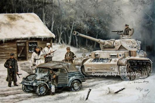 Waffen SS, Panzer, Ostfront, Kessel, Lukas Wirp
