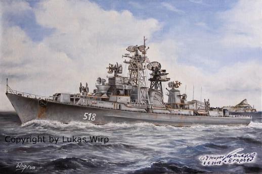 Russische Marine Sowjet Kriegsmarine Mittelmeer