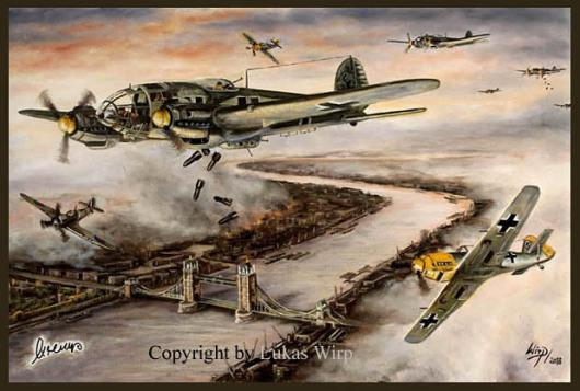 Luftangriff, London, The Blitz, Luftwaffe, Bilder