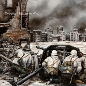 Landser, Wehrmacht, Ostfront, Winterkrieg, Bilder, Fotos, Poster