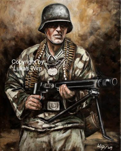 2. weltkrieg, Feldwebel, Bilder, Lukas Wirp