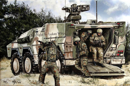 Jäger, Panzergrenadiere, Afghanistan, Bilder, Poster