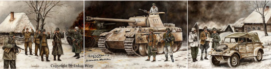Waffen SS , Panzer, Ritterkreuz, Ostfront, Landser