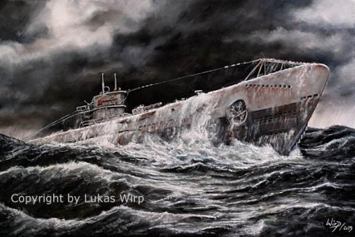 U-Boot, Wölfe, Atlantik, Ritterkreuz, Marine., 2. Weltkrieg