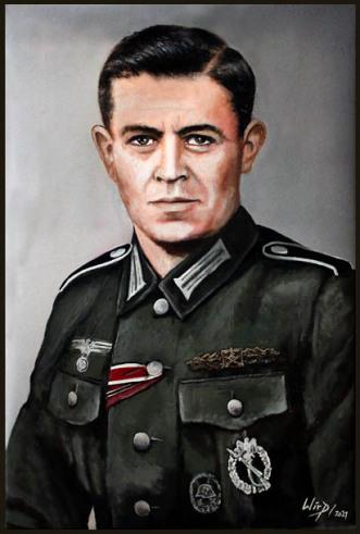 Soldaten, Portraits, Bilder, 2.Weltkrieg, Kunst