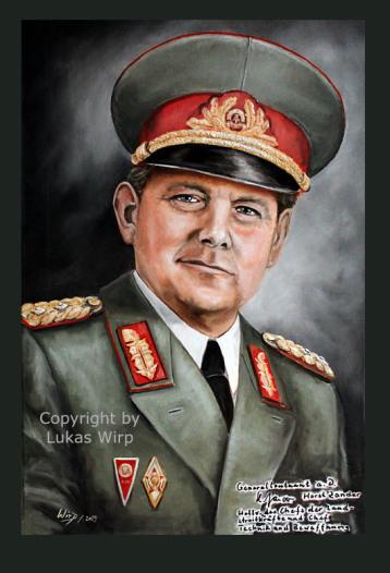 Nationale Volksamree der DDR, NVA, Generale, Offiziere, Portrait