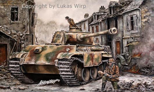 Waffen-SS, Panzer, Westfeldzug, Ritterkreuz, Lukas Wirp