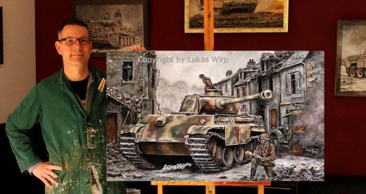 Panzer, Bilder, Militaria, Kunst