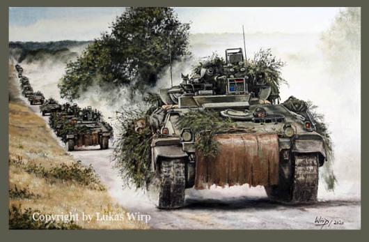 Bundeswehr, Schützenpanzer, Manöver