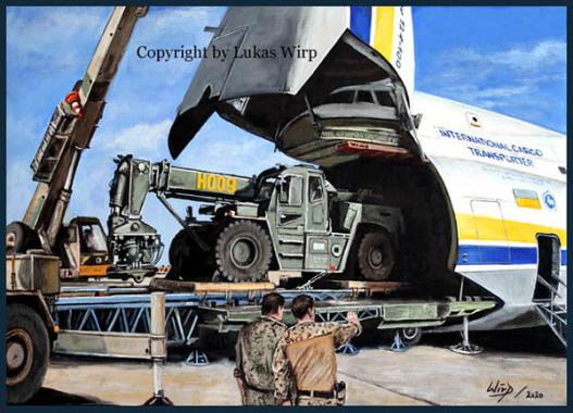 Logistik, Einsatz, Afghanistan, Kran, Bilder