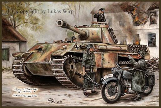 Panzer, Waffen SS, Bilder, Lukas Wirp