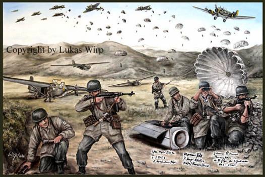 Einsatz, Fallis, 2. Weltkrieg, Griechenland, bilder