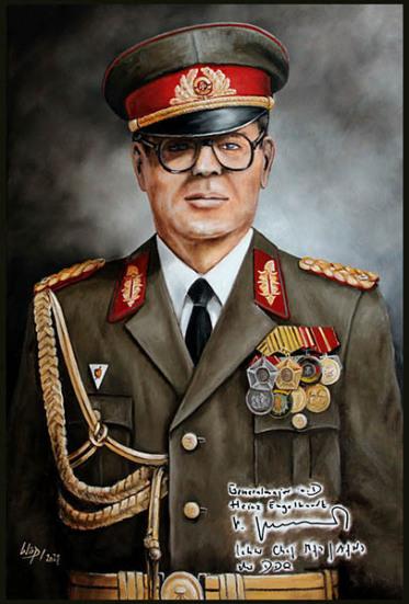 NVA, Generäle, DDR, Portrait