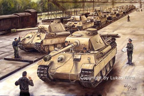 Wehrmacht, Panzer, Zug, Transport, Bilder, 2.Weltkrieg