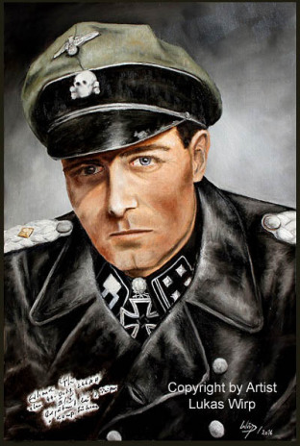 Waffen SS, Obersturmbannführer, Kommandeur, Leibstandarte, Adolf Hitler