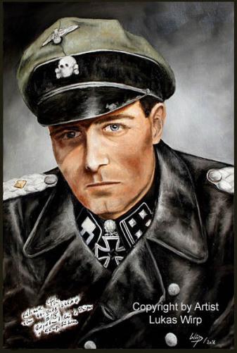 Waffen SS Obersturmbannführer Kommandeur Leibstandarte Adolf Hitler