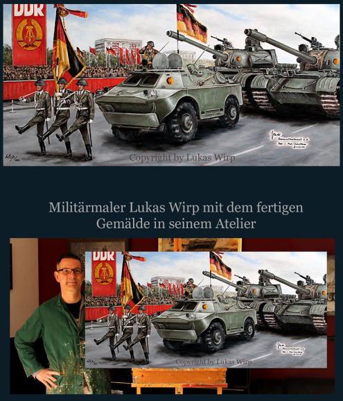 Nationale Volksarmee, Parade, Berlin, Honecker