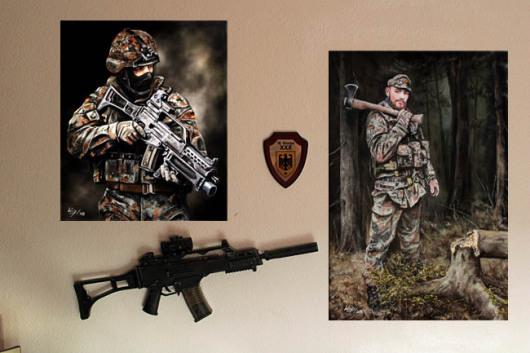 Bundeswehr, soldat, Panzergrenadier, KSK, EinsatzP