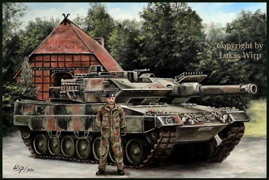 Bundeswehr, Hof Roth, Leopard, Panzer